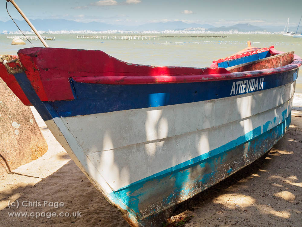 Boat at Santo do Antonio de Lisboa