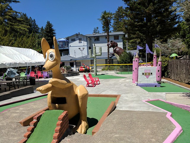 Pee Wee Golf in Guerneville