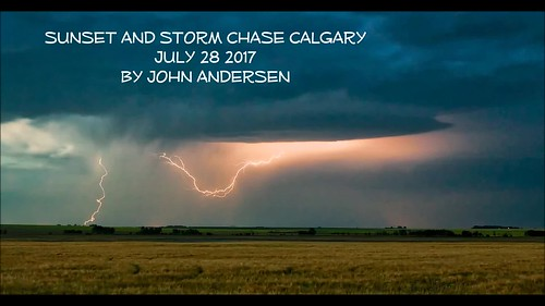 July 28 moonset, Sunset, Storm and Stars