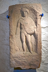 Stèle de Mercure (maison de l'archéologie, Niederbronn-les-Bains) - Photo of Uberach