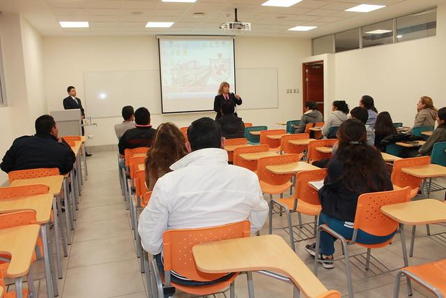Universidad de San Martín de Porres desarrolló charlas a la División de Menores del Club Deportivo de la USMP