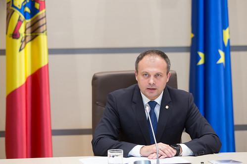 02.08.2017 Conferința de presă susținută de Președintele Parlamentului Andrian Candu