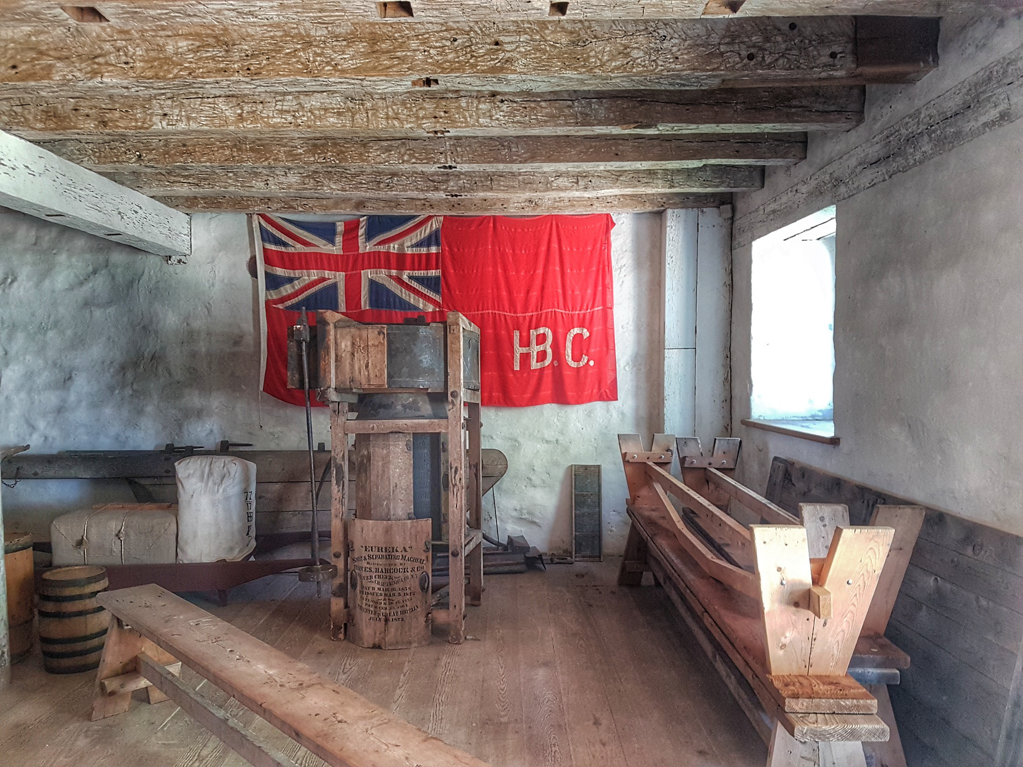 Lower Fort Garry flag