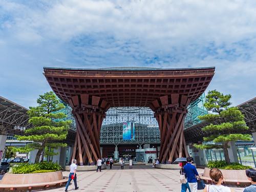 I went to Kanazawa.