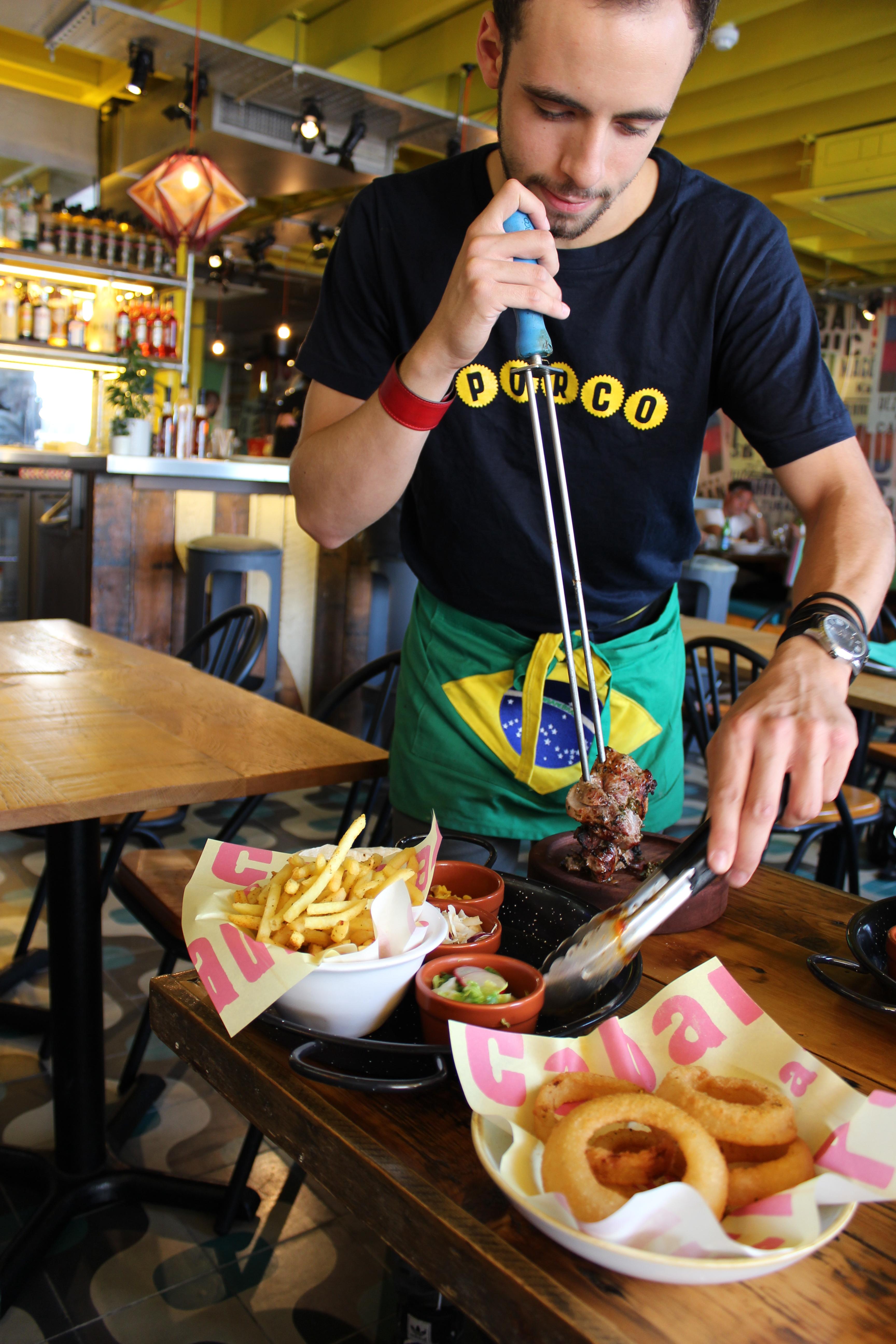 Cabana serving