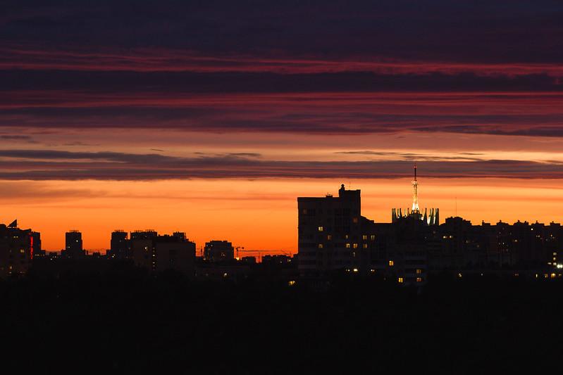 SPB sunset
