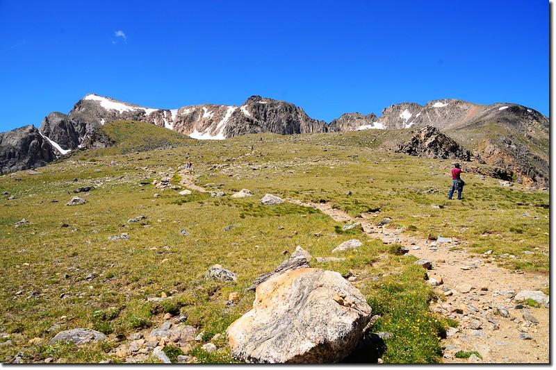 Mount Neva from Arapaho Pass