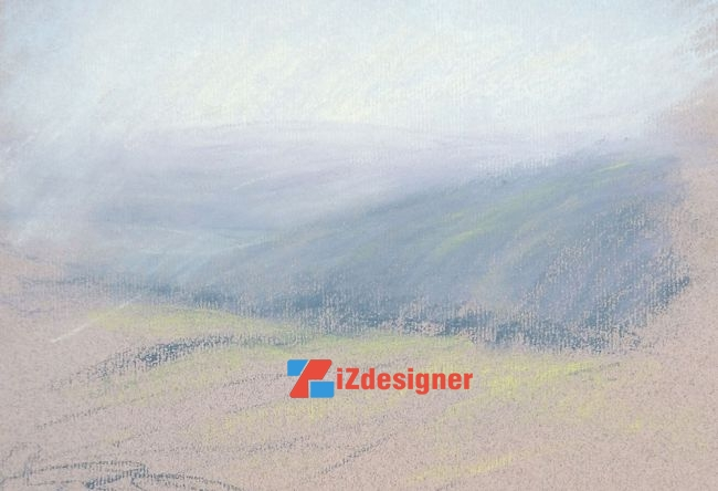 Hướng dẫn vẽ tranh phong cảnh bằng phấn