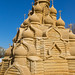 "Sand sculpture ""The Church Of The Transfiguration (Kizhi)"" by Oleg.A"