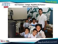 Visita obras provincia de Gualivá