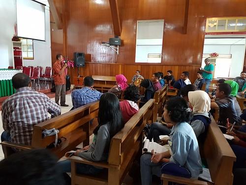 Di Jemaat GPM Latta Training Perdamaian PGI-GPM di Kota Ambon