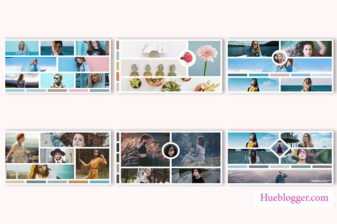 15 mẫu PSD tạo lưới ảnh cho designer