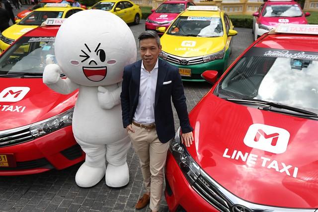 LINE TAXI_Thai Taxi 4 (2) คุณอริยะ พนมยงค์ กรรมการผู้จัดการLINE ประเทศไทย