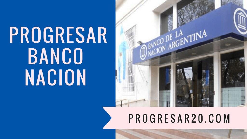 Progresar Banco Nacion