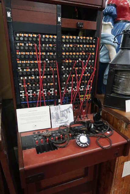 Telephone Exchange, Islay Life Museum