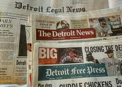 Detroit newspapers