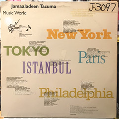 JAMAALADEEN TACUMA:MUSIC WORLD(JACKET B)