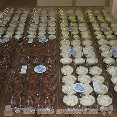 192 Wedding Cupcakes!