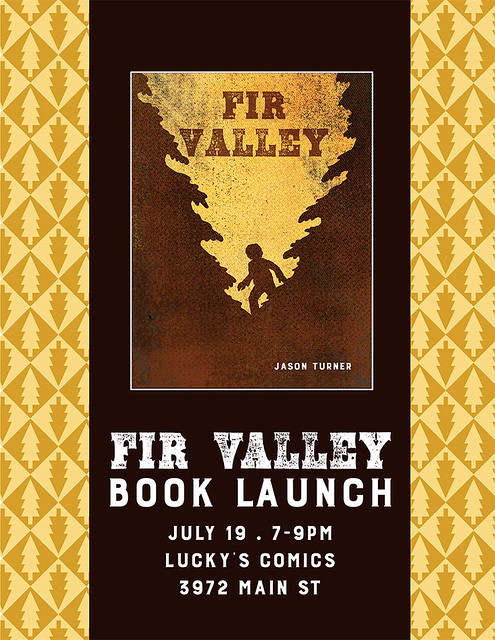 Fir Valley Launch Poster