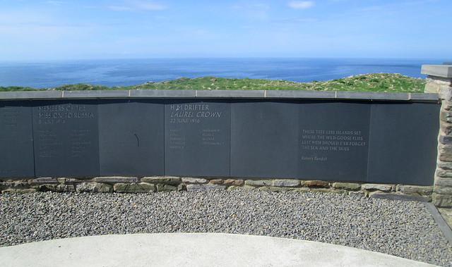 HMS Hampshire + HMS Laurel Crown Memorial