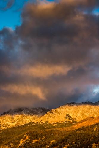 sunrise mountain rockymountainnationalpark estespark colorado unitedstates us