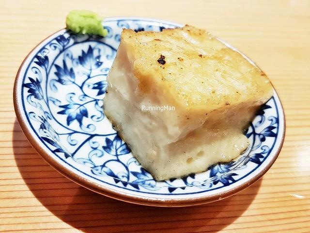 Seared Speciality Sesame Tofu Beancurd