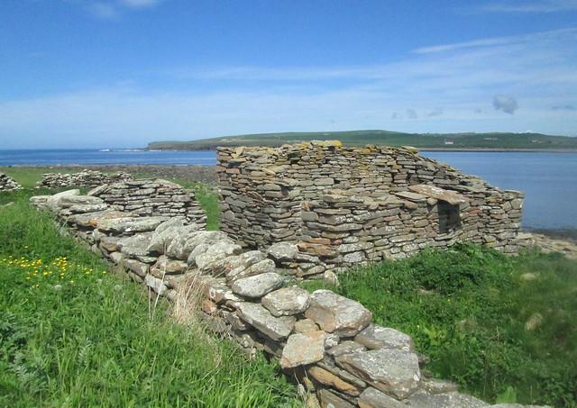 Ruin near Skara Brae