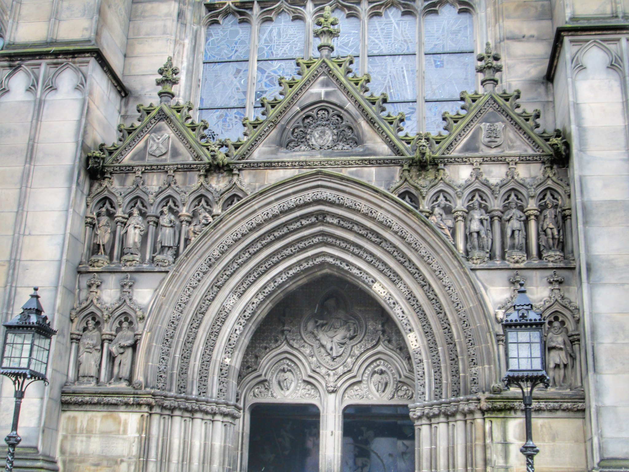 St Giles Cathedral Exterior details