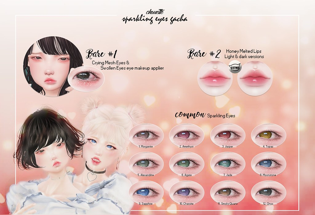 chouette : sparkling eyes gacha!