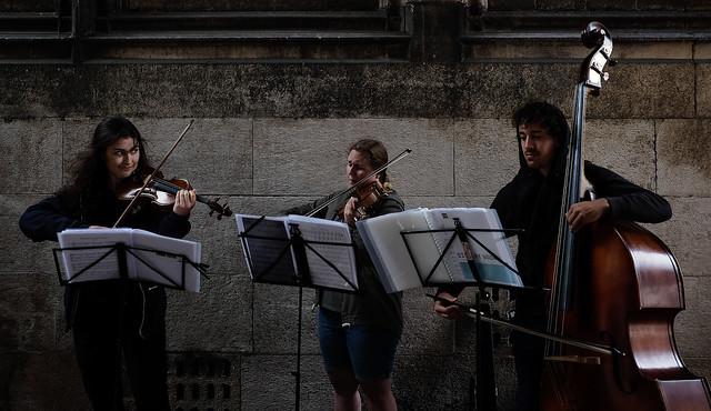Utrecht Domtoren Street Concert, Fujifilm X-T1, XF23mmF2 R WR
