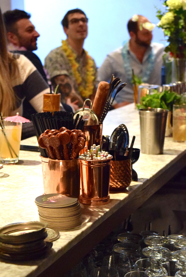Copper Bar Tools at Merchant House, The City | www.rachelphipps.com @rachelphipps