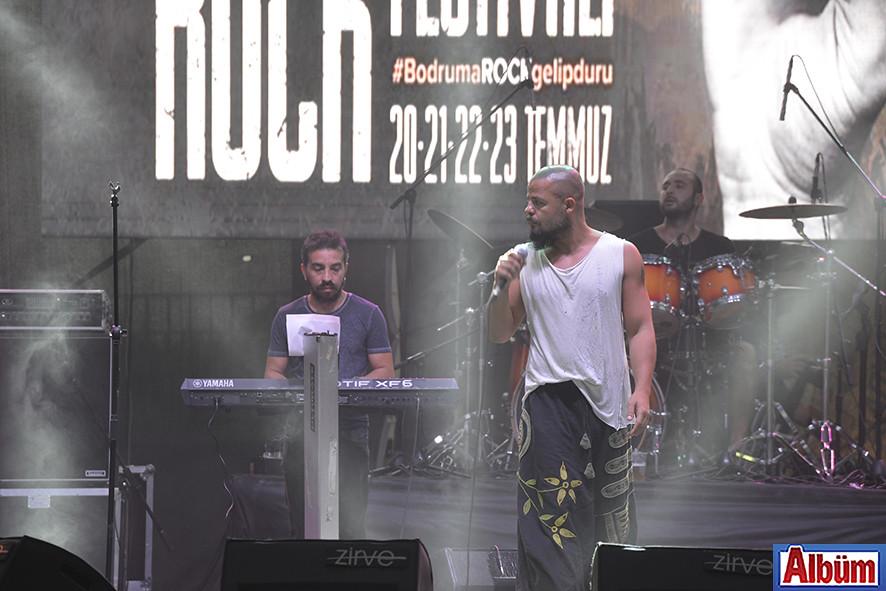 Bodrum Rock Festivali ile sallandı-7