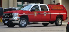 Washington D.C. Fire & EMS Special Operations Battalion Fire Chief 2010 Chevrolet Silverado 2500HD