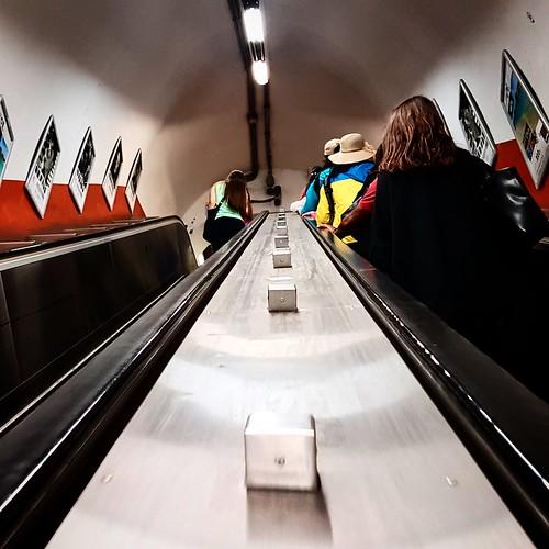 Viste di metropolitana, Roma
