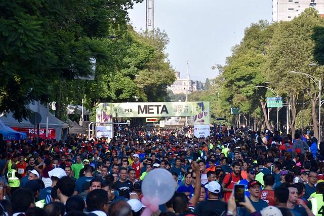 Medio Maratón Ciudad de México 2017