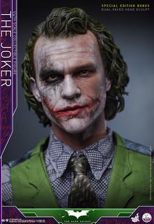 Hot Toys - QS010 - 蝙蝠俠:黑暗騎士【小丑】The Dark Knight The Joker 1/4 比例人偶作品