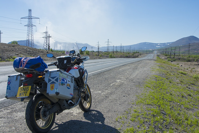 Russia, riding south to Kandalaksha 3