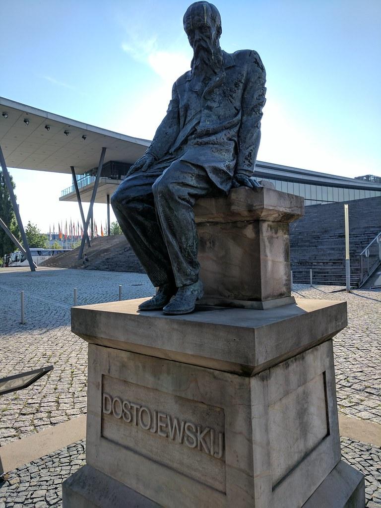 Dostojewski-Denkmal in Dresden