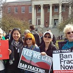 Fracking Ban Rally in Annapolis with a crew from our Environmental Justice Team!