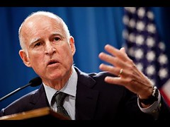 Loudmouth California Governor Jerry Brown Suddenly Needs President Trump's Help!