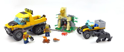LEGO City 60159 Jungle Halftrack Mission 61