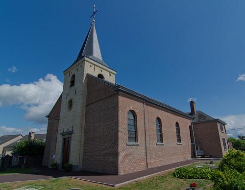 Grote-Spouwen, Sint-Lambertuskerk.
