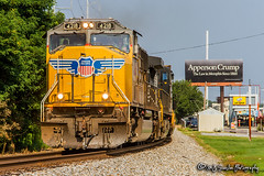 UP 4218 | EMD SD70M | NS Memphis District