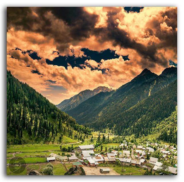 Breathtakingly beautiful Aru valley!