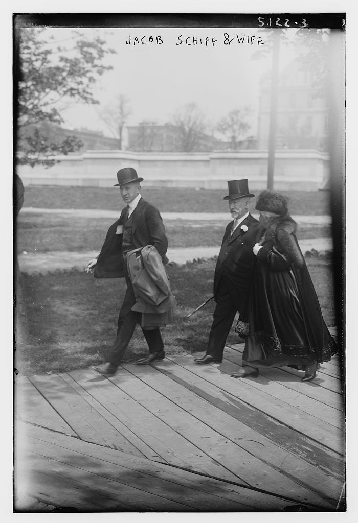 Jacob Schiff & wife (LOC)