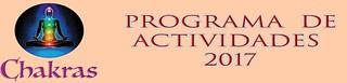 programa de actividades de chakras