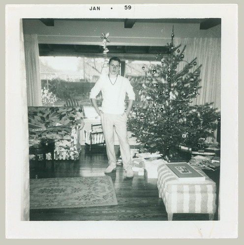Young Man at Christmas