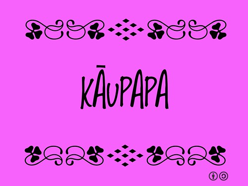 Kāupapa = The purpose and goals of an organization