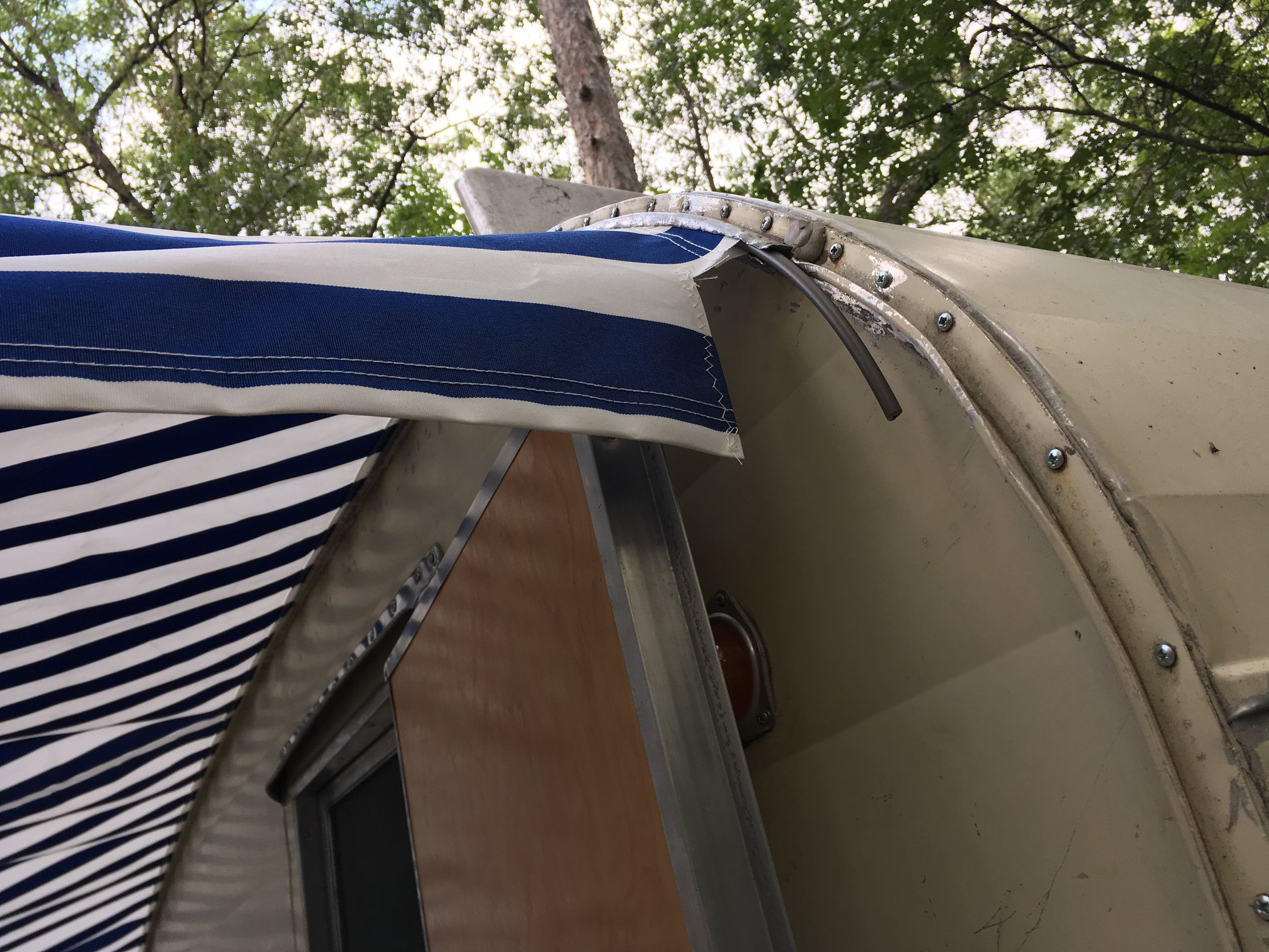 Awning Rail Question For A Shasta Vintage Trailer Talk