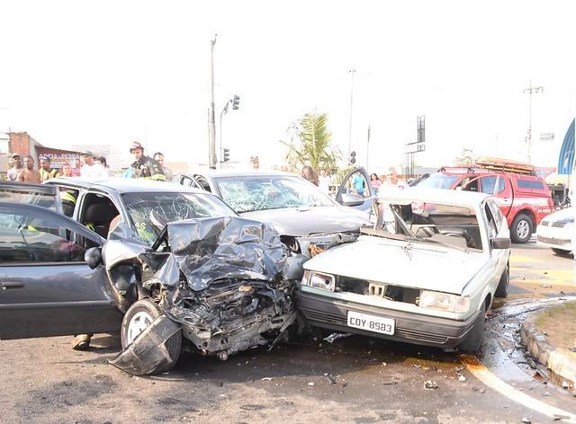 Morre uma das vítimas de acidente na avenida Ipanema